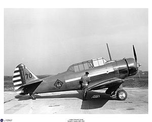 North American BT-9 - BT-9A at Langley