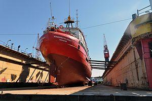 ELBE1 - Bürgermeister O'Swald (ship, 1948) 2012 05-by-RaBoe 15.jpg