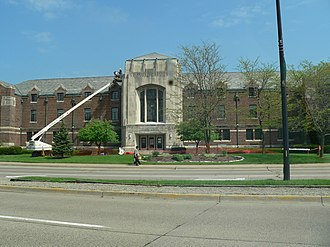 McKenny Hall - McKenny Union during the 2006-2007 remodeling