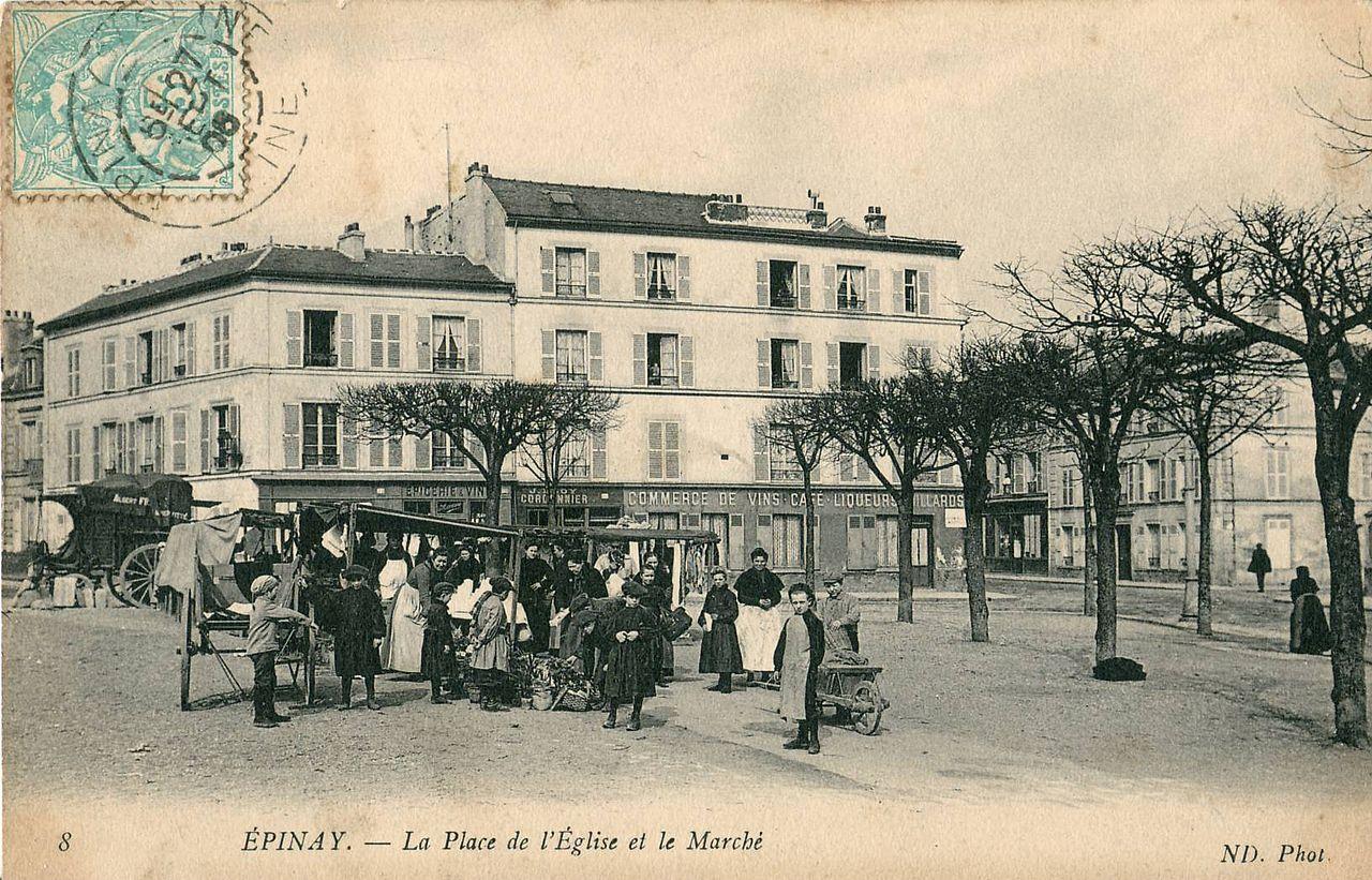 Rue De L Eglise  Vitry La Ville