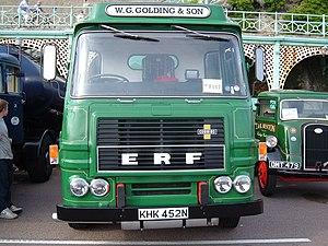 ERF (truck manufacturer) - Image: ERF reg KHK 452 N