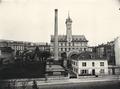 ETH-BIB-Zürich, ETH Zürich, altes Maschinenlaboratorium, Fassade West und Hochkamin-Ans 00115.tif