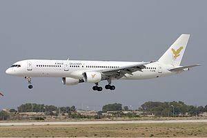 Eagle Aviation Boeing 757 Zammit.jpg