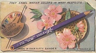 Berol - Eagle Pencil Co. ad, c. 1900.