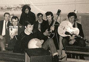 Paul Barrett - Earl Fuggle (Barrett) and the Electric Poets in 1966