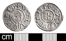 A silver penny of Wulfred
