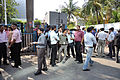 Earthquake Leads Office Evacuation - Sector-V - Salt Lake City - Kolkata 2012-04-11 9368.JPG
