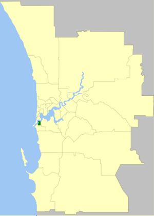Town of East Fremantle - Image: East Fremantle LGA WA