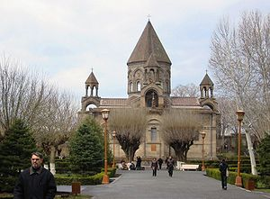 Etchmiadzin Cathedral in Vagharshapat