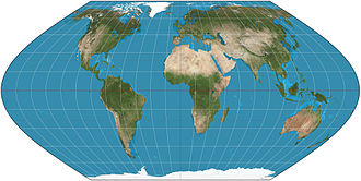 Eckert VI projection - Eckert VI projection of the world.