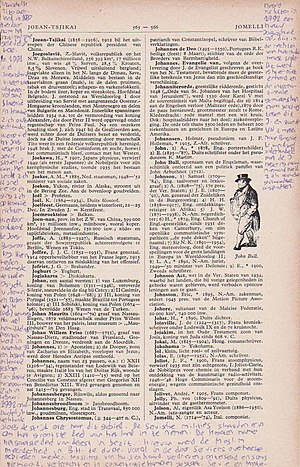 English: Editing an encyclopedia before Wikipedia