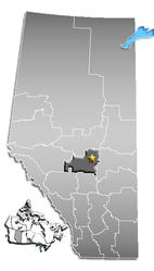 Edmonton – Mappa