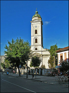 L'église Saint-Pierre et Saint-Paul de Šabac