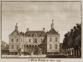 De Ehze in 1743 door Jan de Beijer.