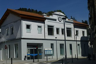 Eibar - Train station.