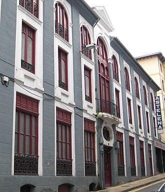 Astelena fronton - Image: Eibar Isasi Astelena