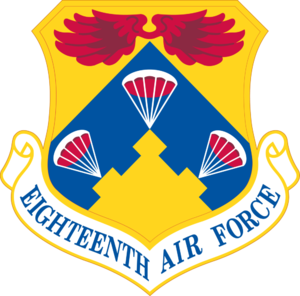 Eighteenth Air Force - Image: Eighteenth Air Force Emblem