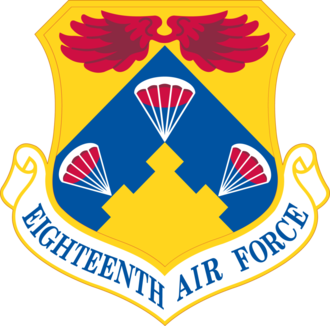 Eighteenth Air Force - Shield of the Eighteenth Air Force