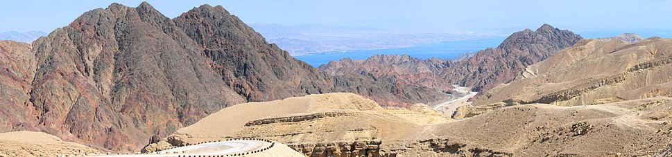 Panorama of the Eilat Mountains