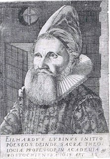 Eilhard Lubinus German theologian