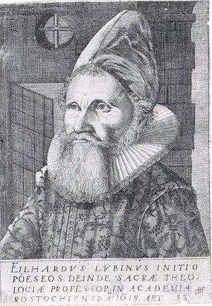 Eilhard Lubinus - Eilhard Lubinus