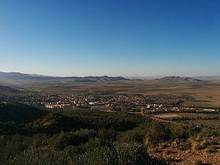 El Madher District District in Batna Province, Algeria