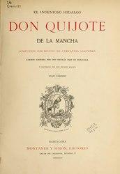 Nicolás Díaz de Benjumea: El ingenioso hidalgo Don Quijote de la Mancha (1880-1883)