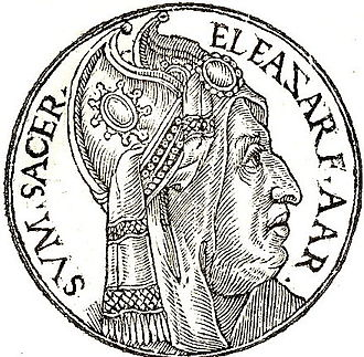 Eleazar - Eleasar from Promptuarii Iconum Insigniorum