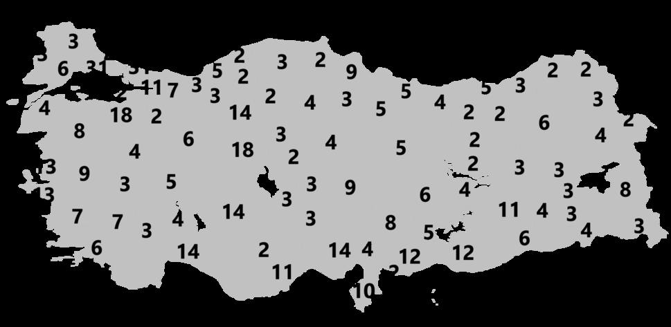 Electoral districts of Turkey 2015