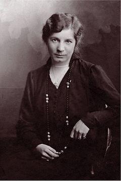 Elin Wägner engang i 1920'erne