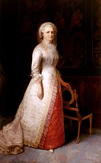 Martha Dandridge Custis Washington (Mrs. George Washington)