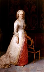 Eliphalet Frazer Andrews: Martha Dandridge Custis Washington (Mrs. George Washington)