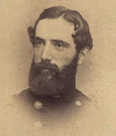 Portrait of a bearded Caucasian uniformed man