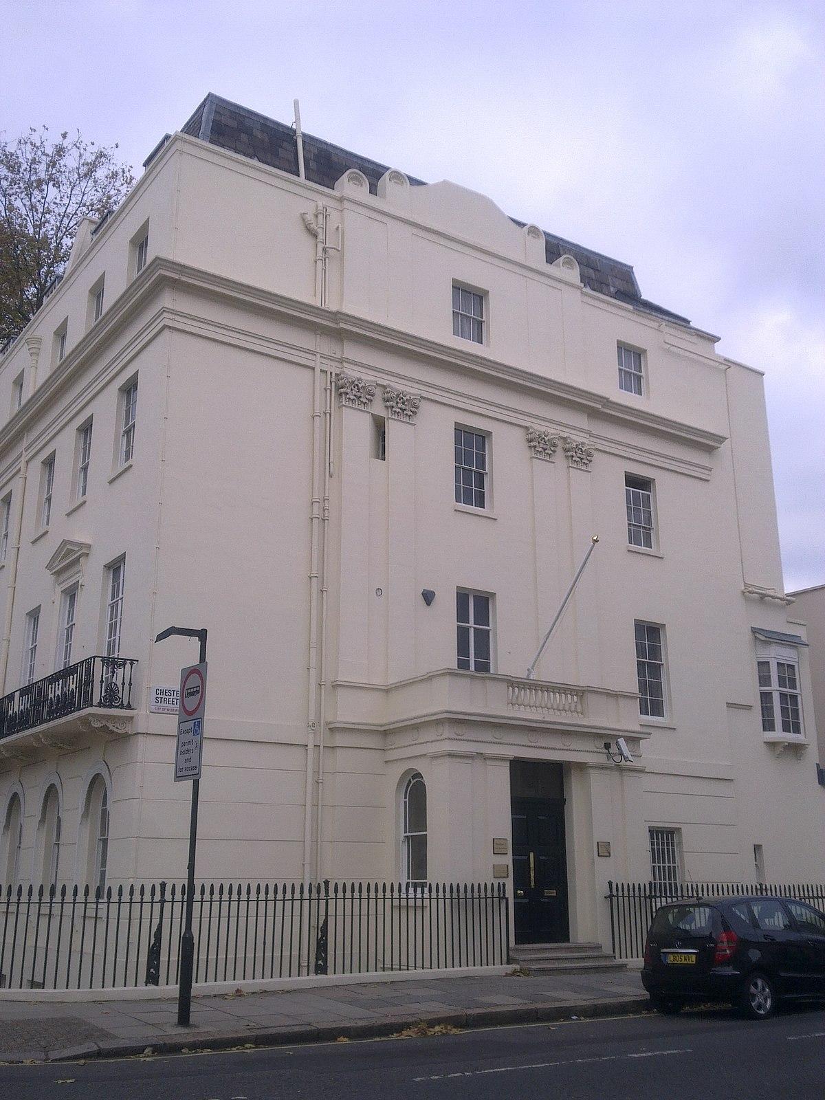 Embassy Of Ivory Coast London Wikipedia