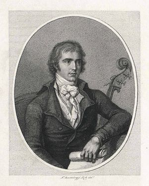 Domenico Dragonetti - Image: Engraving dragonetti