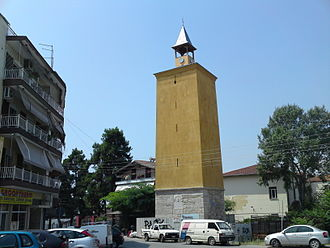 Pella (regional unit) - Clocktower of Giannitsa.