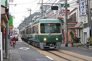 Enoshima Electric Railway - Image: Enoden T500