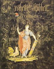 Enseigne Alsacienne revolutionnaire