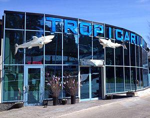 Tropicarium Kolmården - Image: Entrance to kolmardens tropicarium