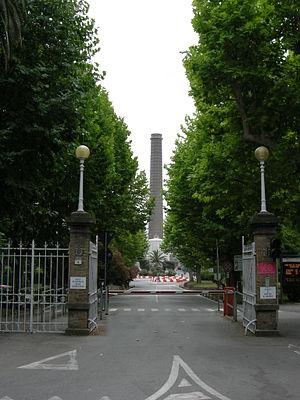 Rosignano Solvay - Entrance to the Solvay factory.