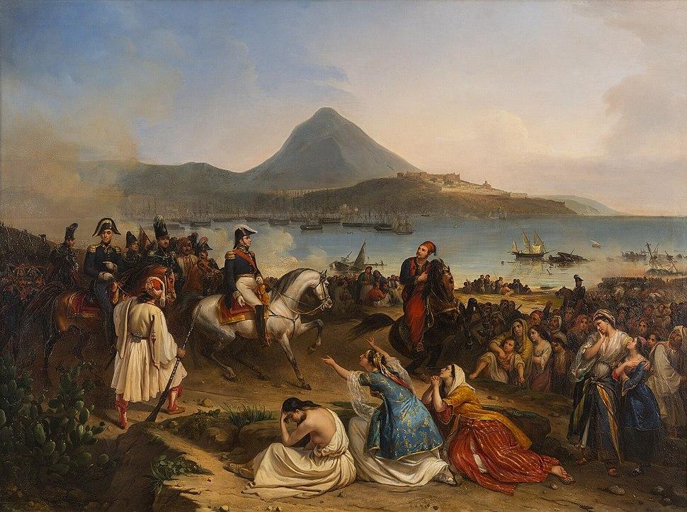 Entrevue du général Maison et d'Ibrahim Pacha, à Navarin, septembre 1828