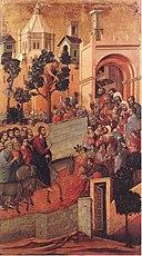 EntryIntoJerusalem Duccio di Buoninsegna
