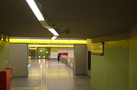 Entryway, metro station Once, Buenos Aires.jpg