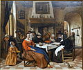 Epiphany, Jan Havicksz Steen, c. 1664, oil on canvas - Villa Vauban - Luxembourg City - DSC06630.JPG