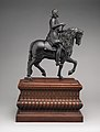 Equestrian statuette of Philip IV, King of Spain (1605–1665) MET DP-922-005.jpg