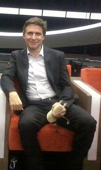 Erik Van Looy - Erik Van Looy at De Slimste Mens ter Wereld (The Smartest Person on Earth) in 2012
