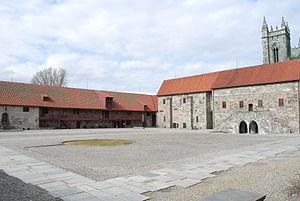 Archbishop's Palace, Trondheim - Image: Erkebispegården Trondheim 01