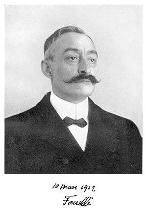 Ernest Fanelli - Ernest Fanelli in 1912