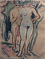 Ernst Ludwig Kirchner. Two Nudes in a Landscape (c. 1908-10) (24982652391).jpg