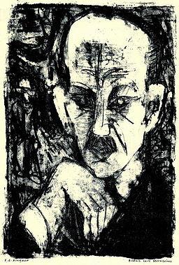 Ernst Ludwig Kirchner Bildnis Carl Sternheim 1916